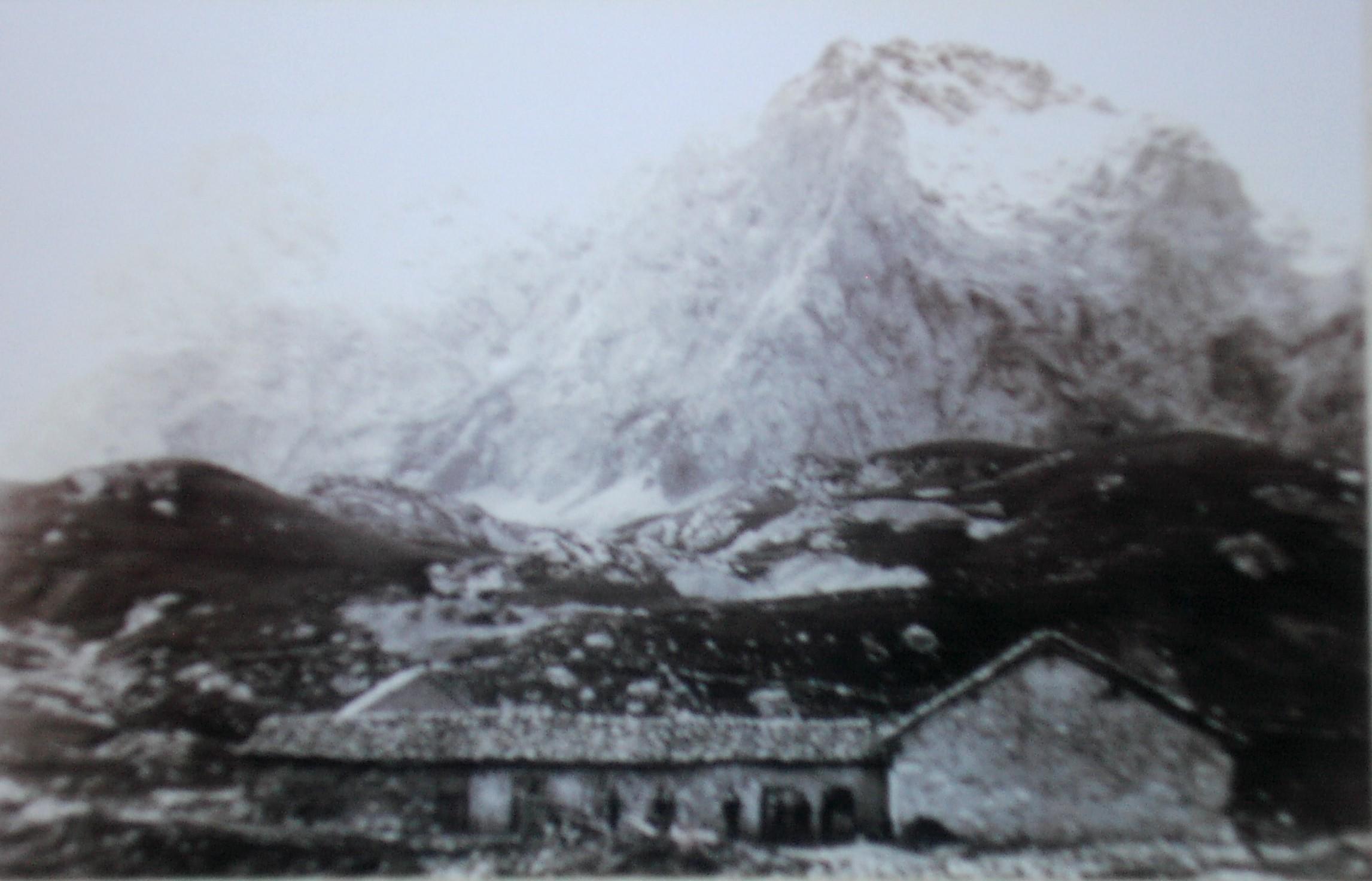 Casetón de Áliva a finales del siglo XIX