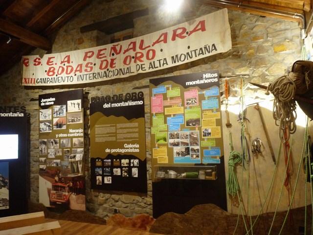 Centro de Interpretación de la Montaña, en Espinama